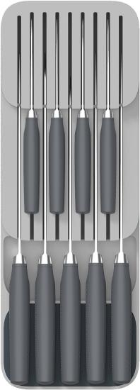 Компактный 2-хуровневый органайзер для ножей Joseph Joseph DrawerStore™ Knife Organiser 3
