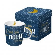 Кружка в подарочной упаковке Moon Love 450 ml