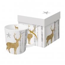 Кружка в подарочной упаковке Mystic Deer 450 ml