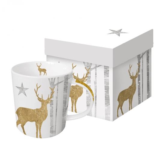 Кружка в подарочной упаковке Mystic Deer 450 ml 1