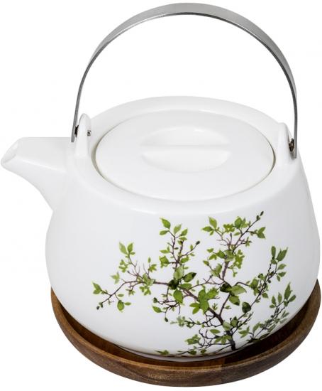 Чайник заварочный на подставке Natura 1