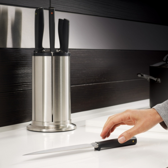 Комплект разделочных досок и ножей Joseph Joseph Knives and Index steel 5