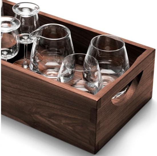 Набор для ценителей виски с деревянным подносом Islay Whisky 4