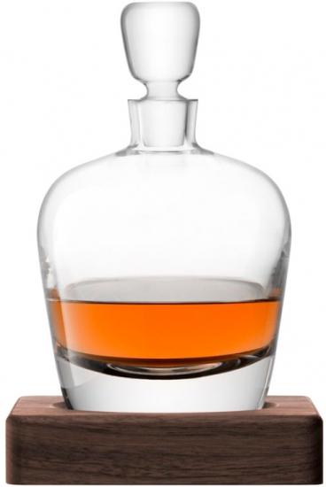 Декантер с деревянной подставкой Arran Whisky 1 л 1