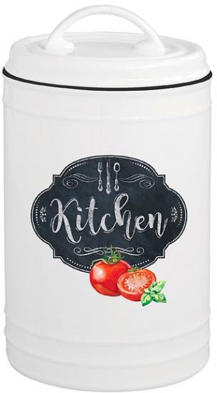 Банка для сыпучих продуктов Retro Kitchen 20 cm 1