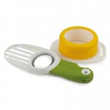Форма для яиц пашот и нож для авокадо Joseph Joseph Breakfast Set