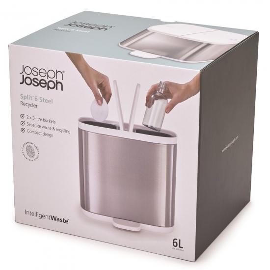 Контейнер мусорный для ванной комнаты Joseph Joseph Split™ 8
