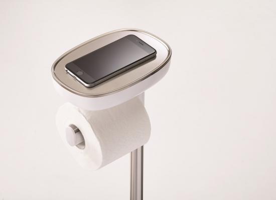 Держатель для туалетной бумаги с подносом Joseph Joseph EasyStore 9