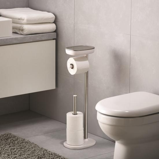 Держатель для туалетной бумаги с подносом Joseph Joseph EasyStore 1