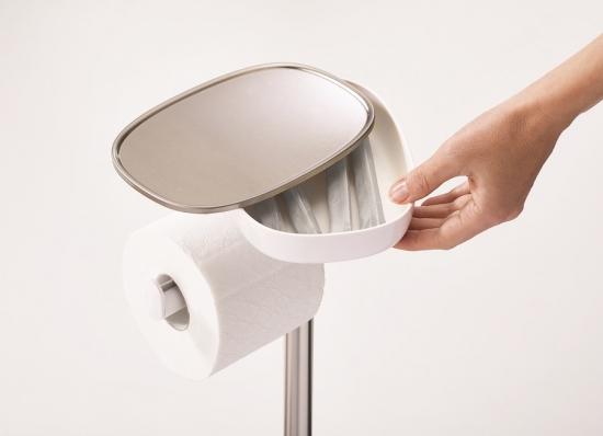 Держатель для туалетной бумаги с подносом Joseph Joseph EasyStore 5