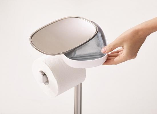 Держатель для туалетной бумаги с подносом Joseph Joseph EasyStore 10