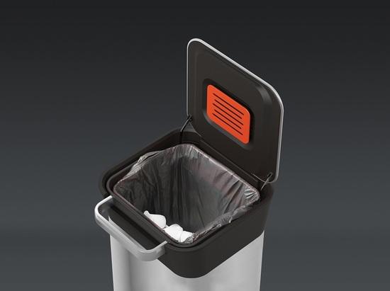 Контейнер для мусора с прессом Joseph Joseph Titan Steel 20 L 8