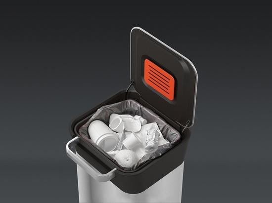Контейнер для мусора с прессом Joseph Joseph Titan Steel 20 L 5