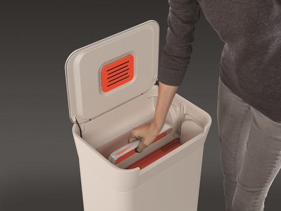 Контейнер для мусора с прессом Joseph Joseph Titan 30L 10