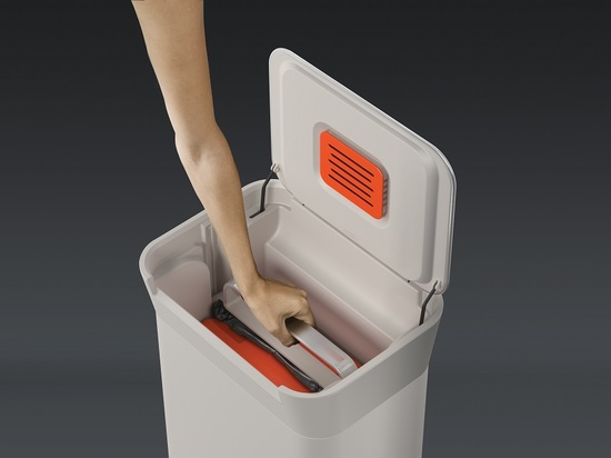 Контейнер для мусора с прессом Joseph Joseph Titan 30L 8