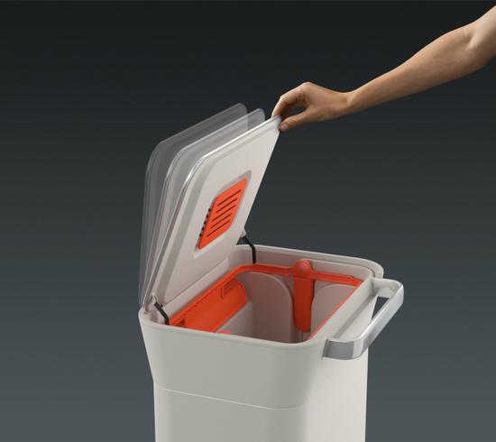 Контейнер для мусора с прессом Joseph Joseph Titan 30L 13