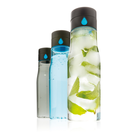 Бутылка для воды с счётчиком выпитого Aqua Tritan 650 ml 6