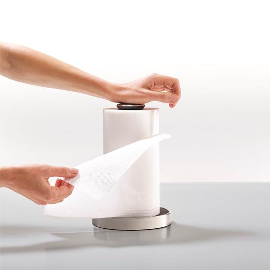 Держатель для бумажных полотенец Joseph Joseph Push&Tear 1