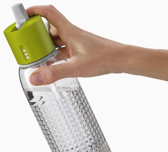 Бутылка для воды с счётчиком выпитого Joseph Joseph Dot Active 750 ml 9
