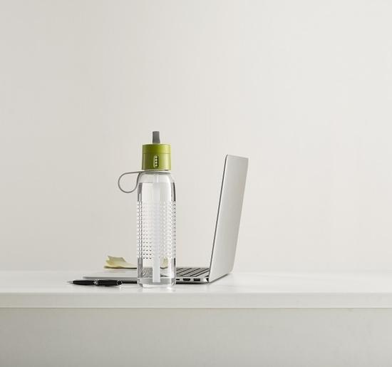 Бутылка для воды с счётчиком выпитого Joseph Joseph Dot Active 750 ml 11
