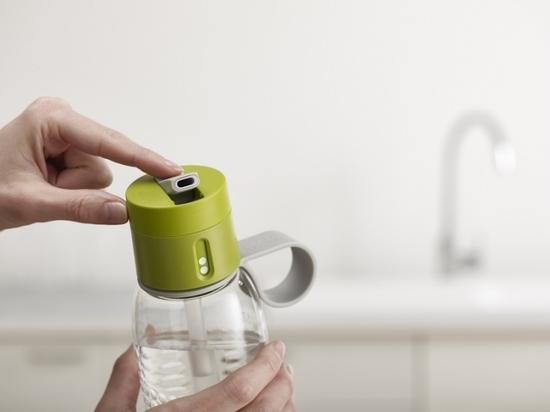 Бутылка для воды с счётчиком выпитого Joseph Joseph Dot Active 750 ml 12