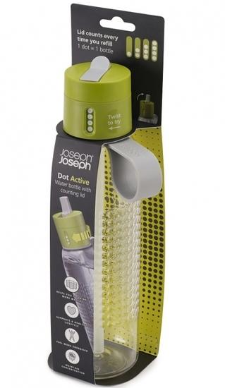 Бутылка для воды с счётчиком выпитого Joseph Joseph Dot Active 750 ml 6