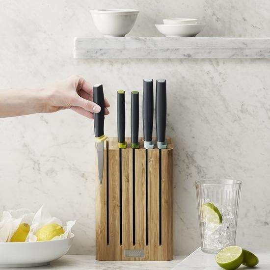 Набор ножей в подставке из бамбука Joseph Joseph Elevate™ knives bamboo 2
