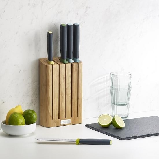 Набор ножей в подставке из бамбука Joseph Joseph Elevate™ knives bamboo 1