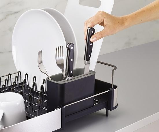Сушилка для посуды раздвижная Joseph Joseph Extend Steel 9