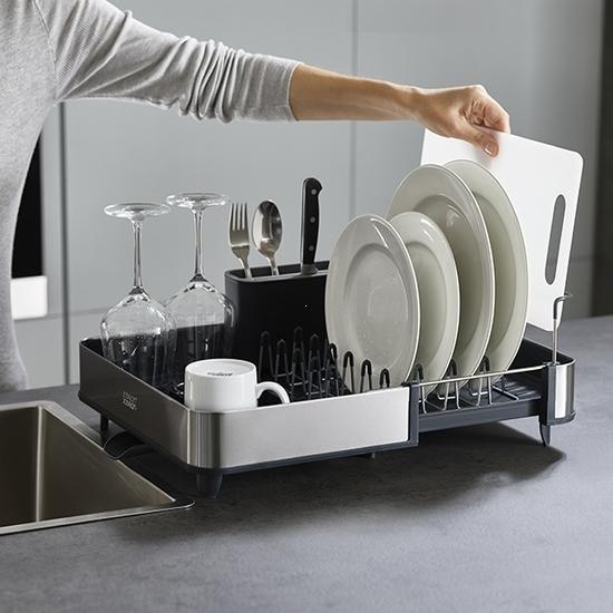 Сушилка для посуды раздвижная Joseph Joseph Extend Steel 4