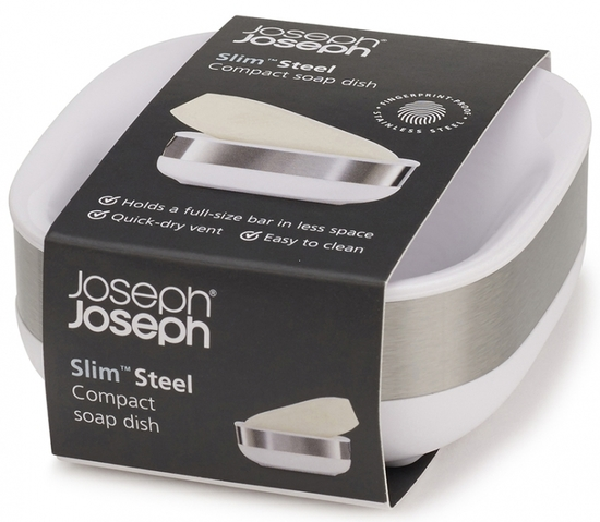Мыльница Joseph Joseph Slim Steel 5