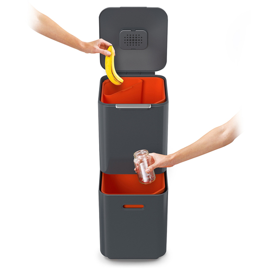 Контейнер для мусора с двумя баками Joseph Joseph Totem Compact 40 L 10