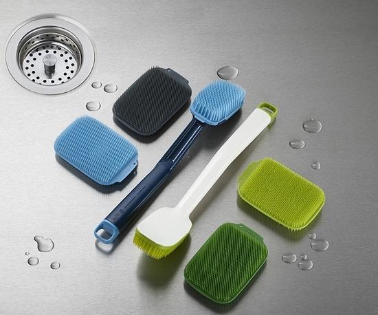 Набор из 2 щеток для мытья посуды Joseph Jopseh Cleantech 5