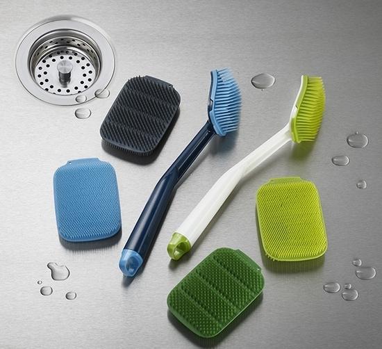 Набор из 2 щеток для мытья посуды Joseph Jopseh Cleantech 2