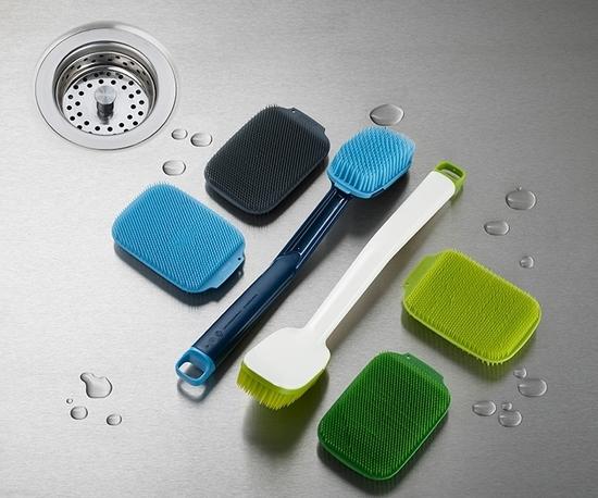 Набор из 2 щёток для мытья посуды Joseph Joseph Cleantech 7