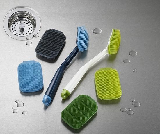 Набор из 2 щёток для мытья посуды Joseph Joseph Cleantech 6