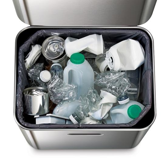 Контейнер для мусора с двумя баками Joseph Joseph Totem Max 60 L Steell 7