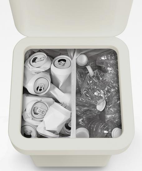 Контейнер для мусора с двумя баками Joseph Joseph Totem Pop 40 L 11