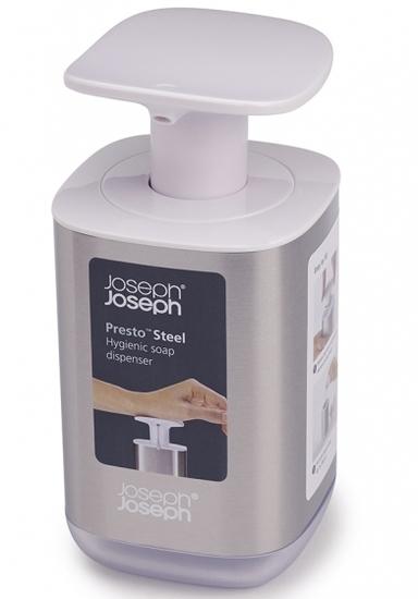 Диспенсер для мыла Joseph Joseph Presto Steel 8