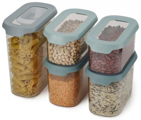 Набор из 5 контейнеров для хранения Joseph Joseph Cupboardstore 5