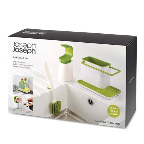 Набор для мытья посуды Joseph Joseph 3-piece Kitchen Sink Set 2
