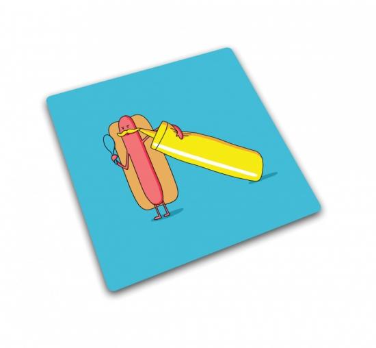 Доска для готовки и защиты рабочей поверхности Joseph Joseph Hot Dog 1