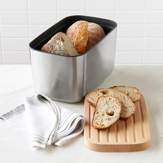 Хлебница с деревянной крышкой Joseph Joseph Bread Bin™ 100 Collection 2