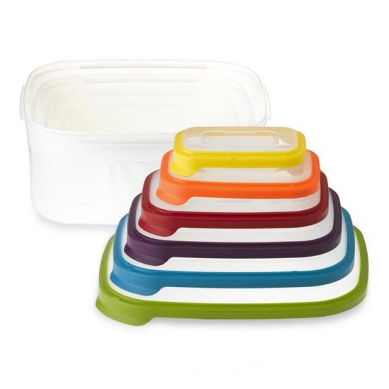 Контейнеры для хранения пищевых продуктов Joseph Joseph Nest™ Storage Set of 6 10