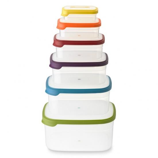 Контейнеры для хранения пищевых продуктов Joseph Joseph Nest™ Storage Set of 6 7