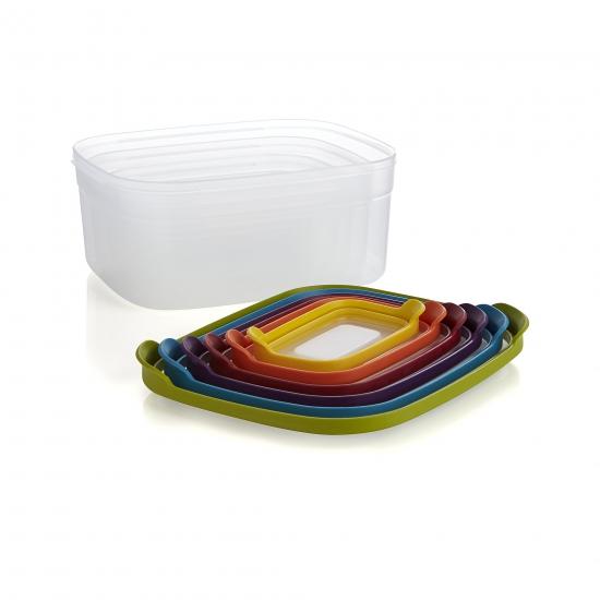 Контейнеры для хранения пищевых продуктов Joseph Joseph Nest™ Storage Set of 6 12