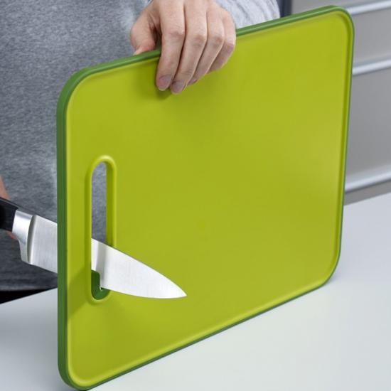 Разделочная доска с ножеточкой Joseph Joseph Slice&Sharpen™ Large 3
