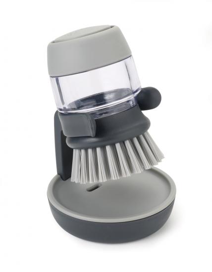 Щетка для мытья посуды с дозатором моющего средства Joseph Joseph Palm Scrub™ 9