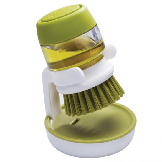 Щетка для мытья посуды с дозатором моющего средства Joseph Joseph Palm Scrub™ 2