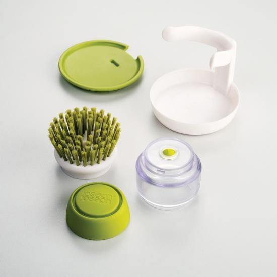 Щетка для мытья посуды с дозатором моющего средства Joseph Joseph Palm Scrub™ 8